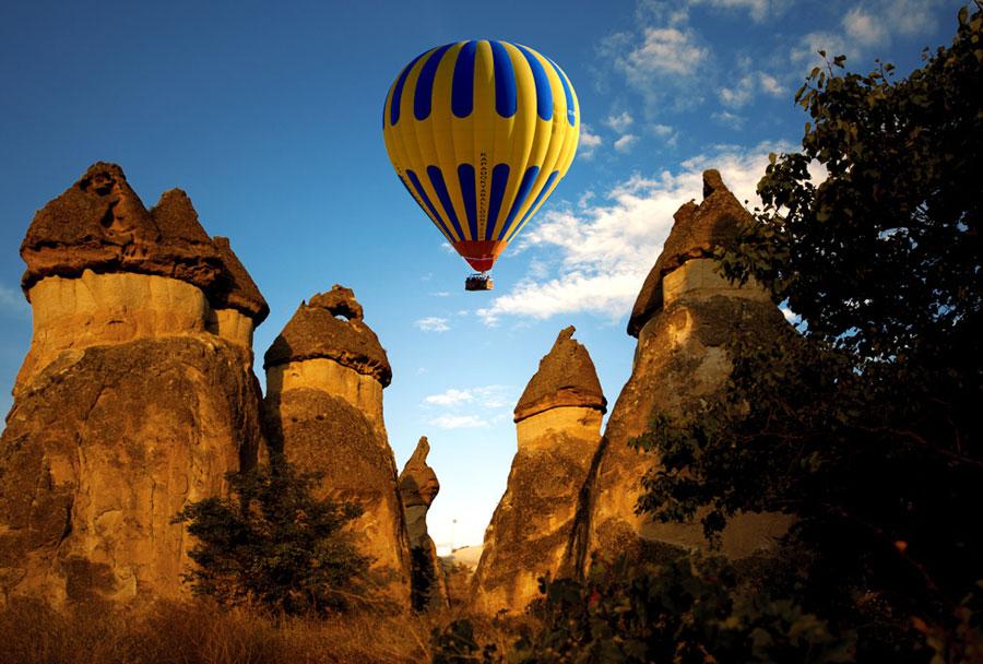 Kapadokya'da Gezilecek Yerler ve Kulüpler
